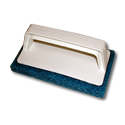Bonded Screen Printing Scrubber Blue